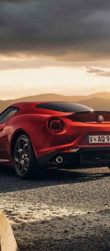 Alfa Romeo 4c Launch Edition Red 1080x2460 380x866