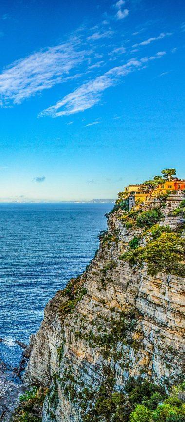 Amalfi Italy Hill Sea 1080x2460 380x866