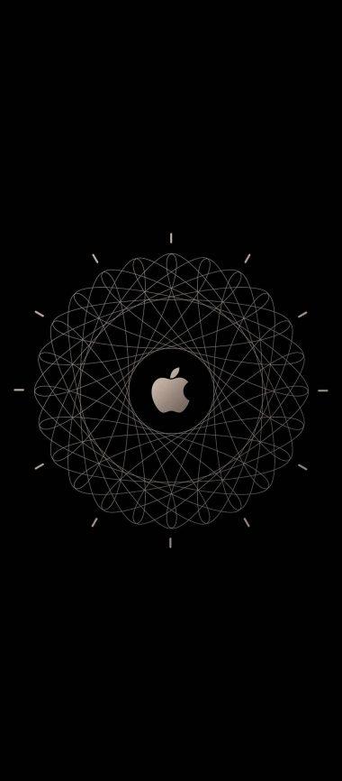 Apple Logo Brown Technology 1080x2460 380x866