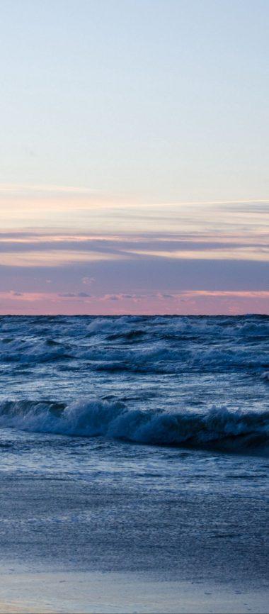 Beach Ocean Sand Horizon 1080x2460 380x866