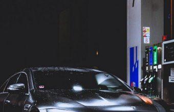 Benz Car Refueling Rain 1080x2460 340x220