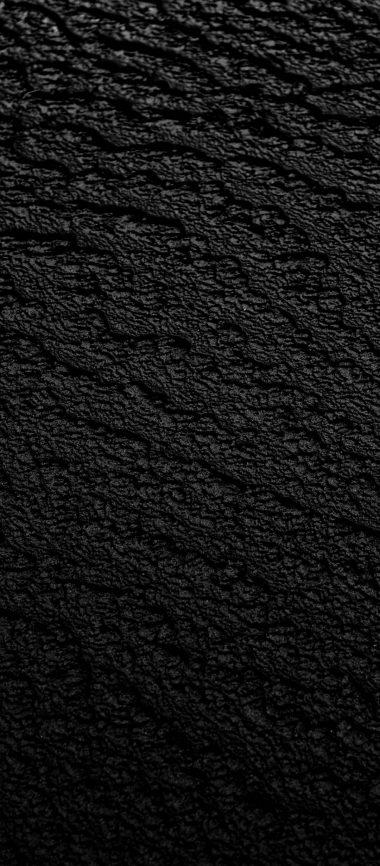 Black Surface Texture 1080x2460 380x866