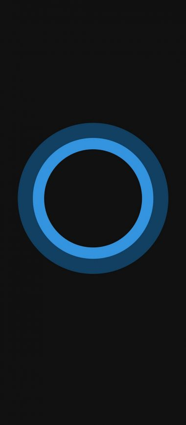Bluish Circles Minimal 1080x2460 380x866
