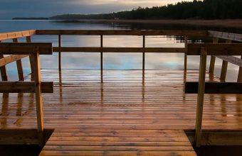 Bridge Lake Wooden Pier 1080x2460 340x220