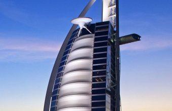 Burj Al Arab Hotel Dubai Uae Sky 1080x2460 340x220