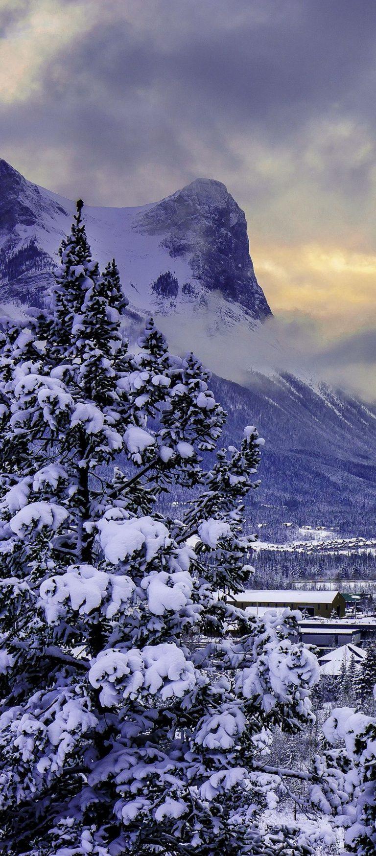 Canada Mountain Alberta Banff National Park 1080x2460 768x1749