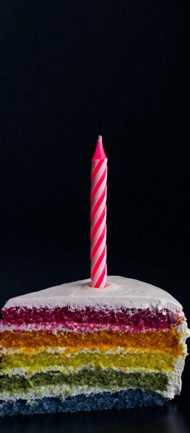 Candle Cake Food 1080x2460 380x866