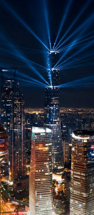 City Lights Aerial View 1080x2460 380x866
