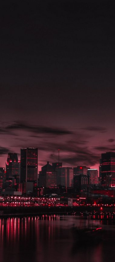 City Night Panorama 1080x2460 380x866