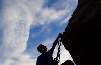 Climber Extreme Silhouette Climbing 1080x2460 340x220