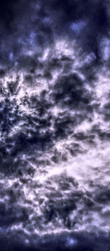 Clouds Sky Overcast 1080x2460 380x866