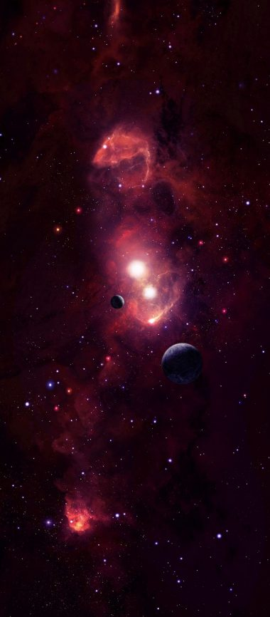 Cosmic Space Planets 1080x2460 380x866