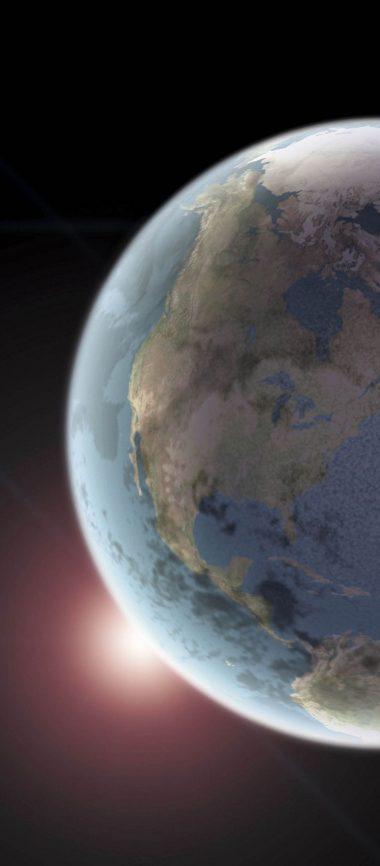 Earth Space Light 1080x2460 380x866