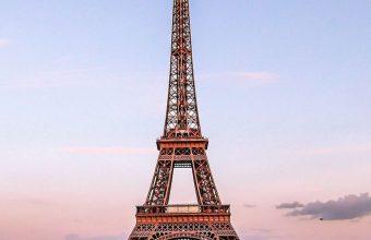 Eiffel Tower Paris Gold Evening France 1080x2460 340x220
