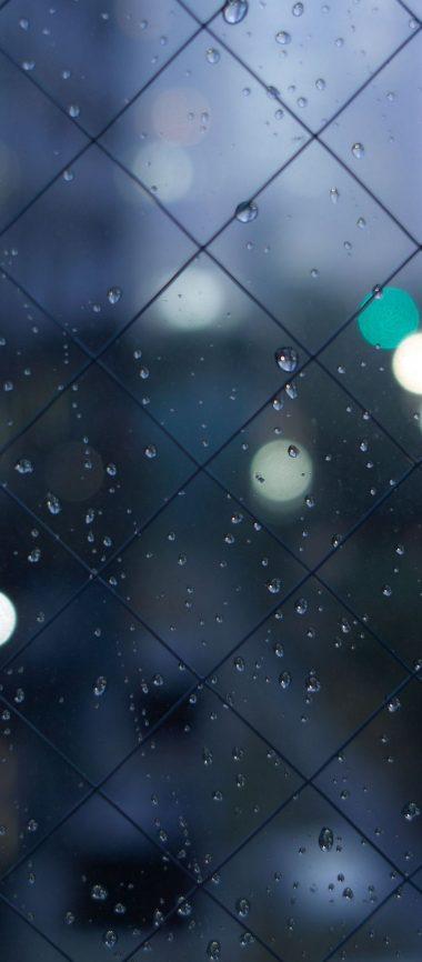 Fence Mesh Drops Texture 1080x2460 380x866