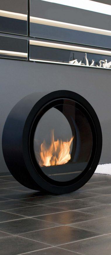 Fireplace Unusual Creative 1080x2460 380x866