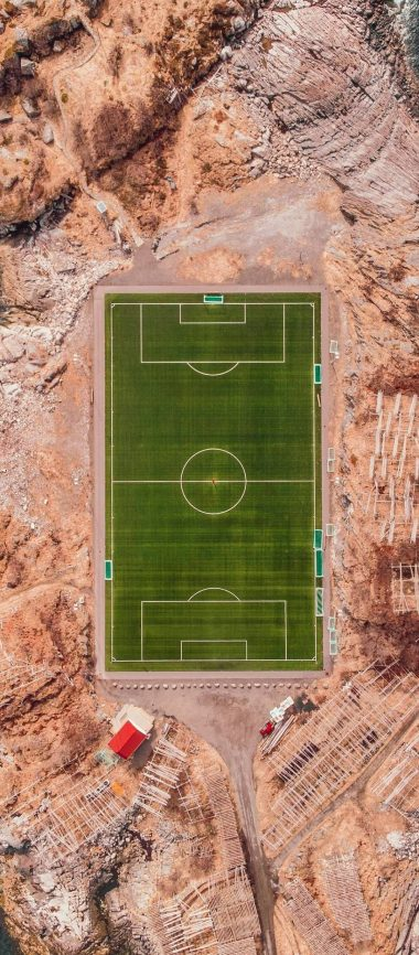 Football Field Island Sports 1080x2460 380x866