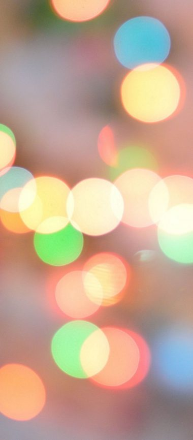 Glare Abstract Circles Shine 1080x2460 380x866