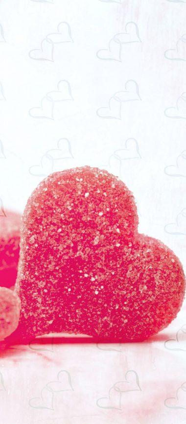 Hearts Candy Sugar 1080x2460 380x866