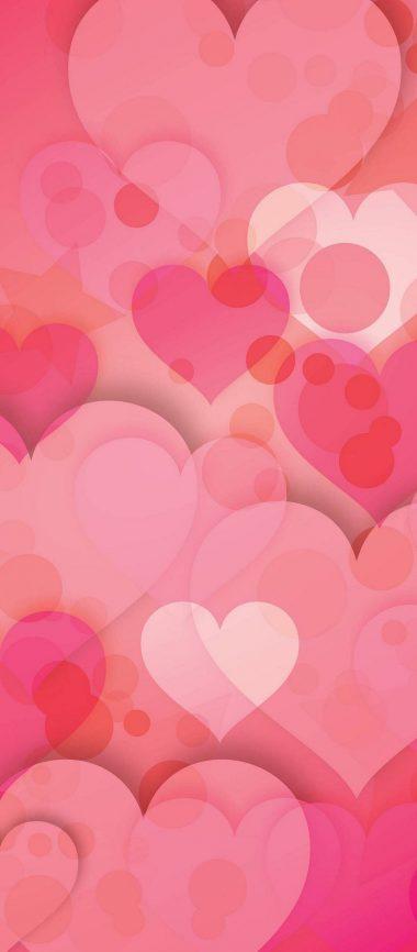 Hearts Love Pinky 1080x2460 380x866