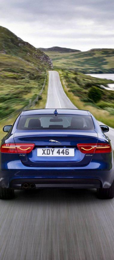 Jaguar XE Car Blur 1080x2460 380x866