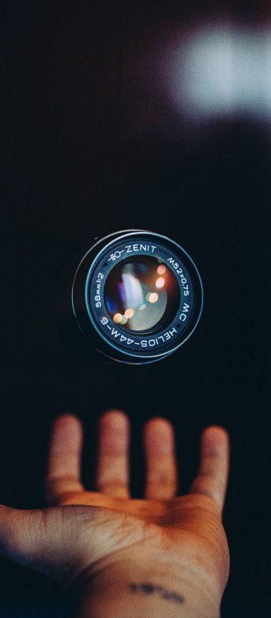 Lens Hand Camera Technology 1080x2460 380x866