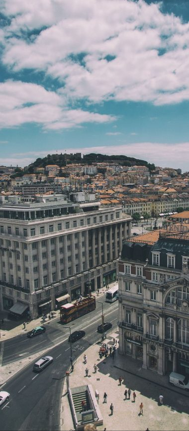Lisbon Portugal Buildings View 1080x2460 380x866