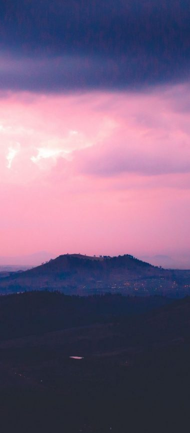 Mountain Hill Sunset Sky 1080x2460 380x866