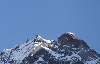 Mountain Top Sky Moon Snow 1080x2460 340x220