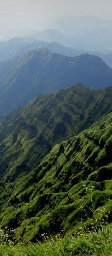 Mountains Fog Landscape 1080x2460 380x866