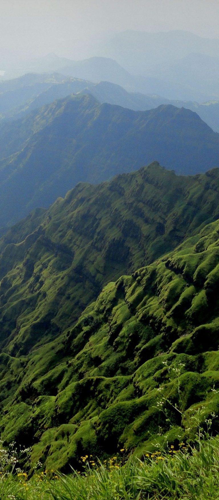 Mountains Fog Landscape 1080x2460 768x1749