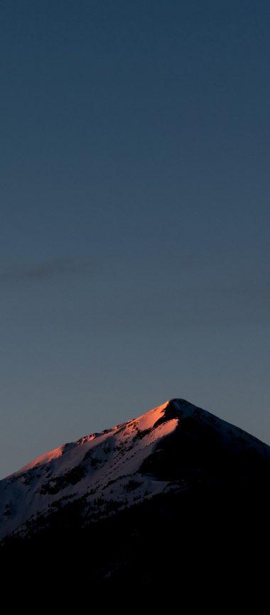 Mountains Sky Top 1080x2460 380x866