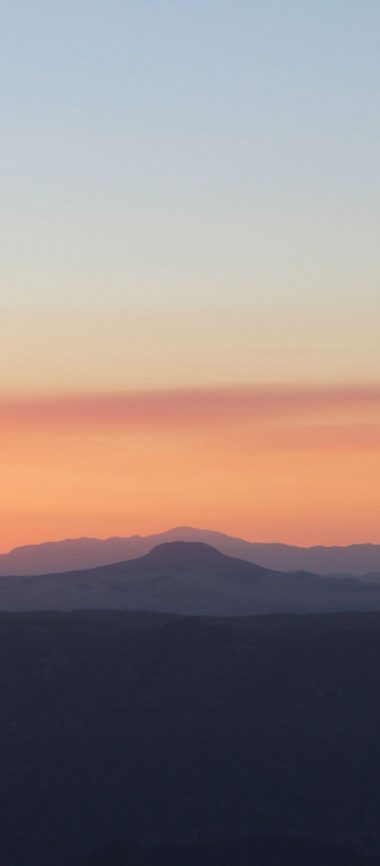 Mountains Skyline Sunrise 1080x2460 380x866