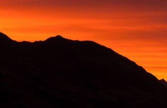 Mountains Sunset Skyline Sky 1080x2460 340x220
