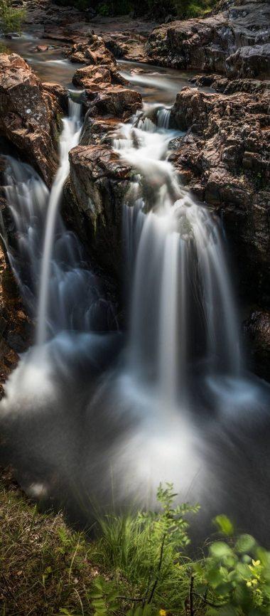 Nature Waterfall Breakage 1080x2460 380x866