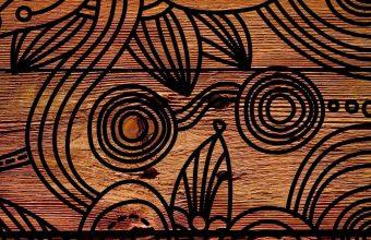Patterns Background Dark Wooden 1080x2460 340x220