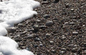 Pebble Stones Sea Waves Whisper Foam 1080x2460 340x220