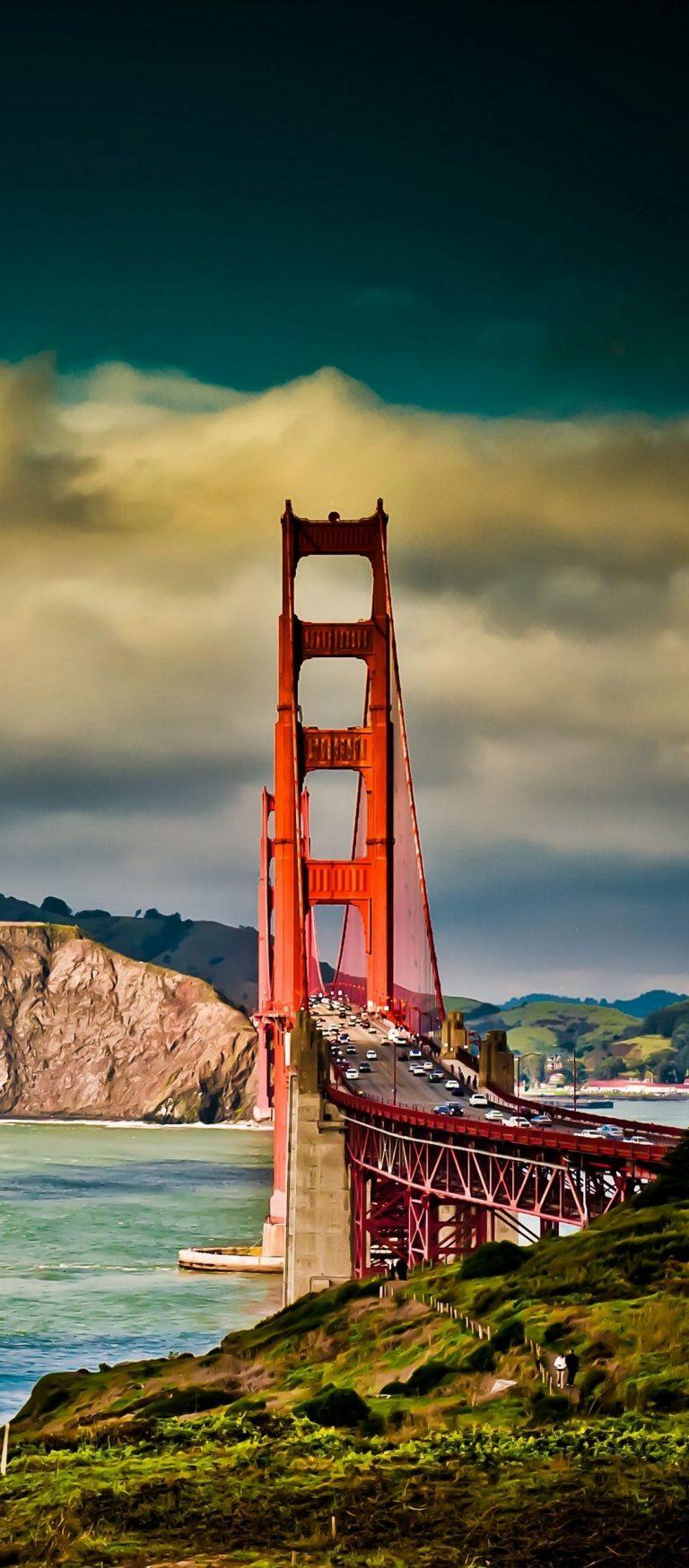 San Francisco Bridge Sky River 1080x2460 768x1749