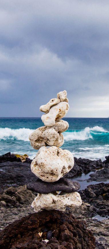 Sea Beach Stones 1080x2460 380x866