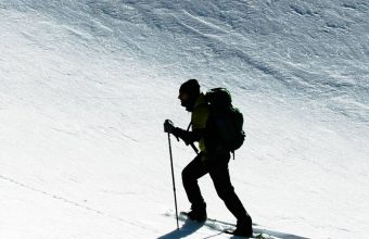 Skier Snow Climb Sport 1080x2460 340x220