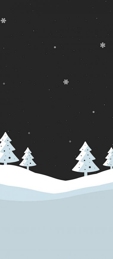 Snowfall Minimal 1080x2460 380x866