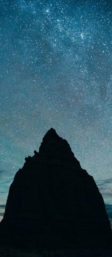 Starry Sky Hills Night 1080x2460 380x866