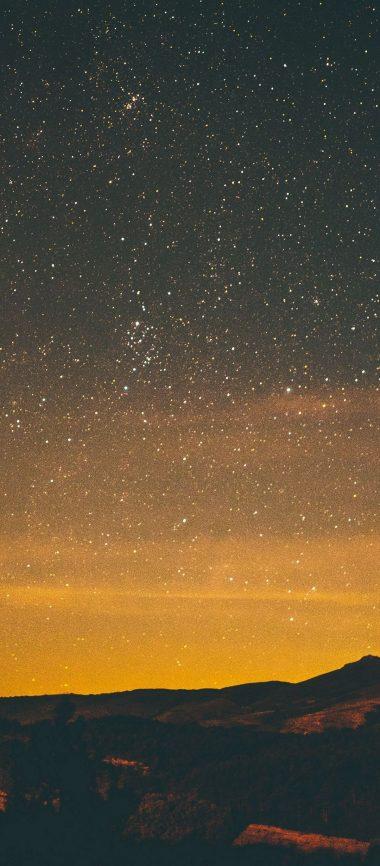 Stars Night Sky 1080x2460 380x866