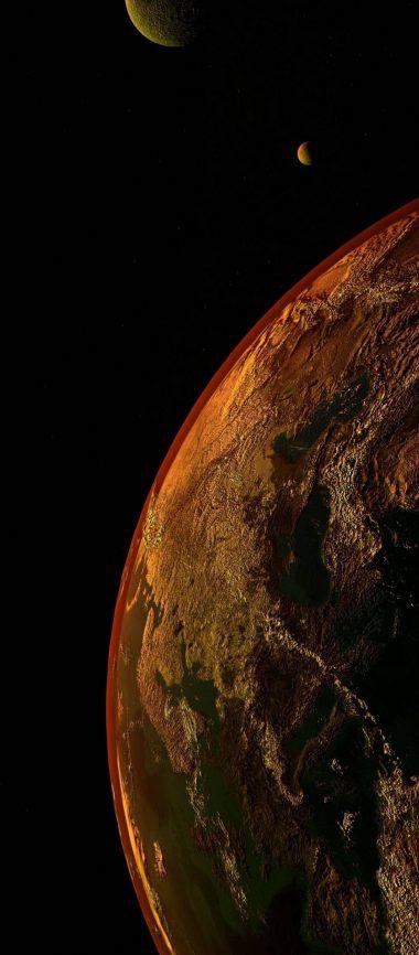 Universe Planet Space 1080x2460 380x866
