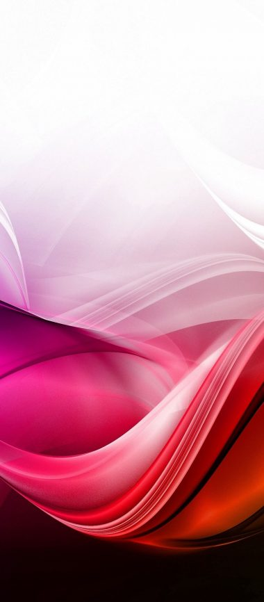 Waves Background Colorful 1080x2460 380x866