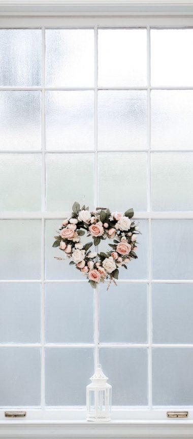 Window Love Hearts 1080x2460 380x866
