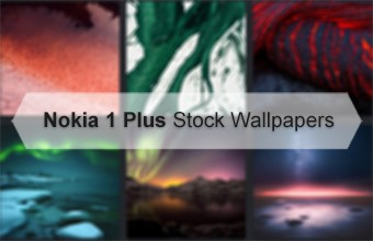 Nokia 1 Plus Stock Wallpapers