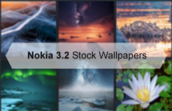 Nokia 3.2 Stock Wallpapers