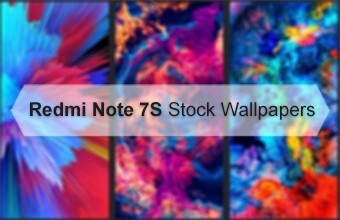 Redmi Note 7S Stock Wallpapers