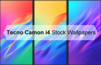 Tecno Camon i4 Stock Wallpapers